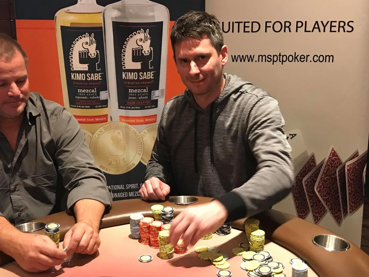 The Second Of Three Starting Flights In The $1,100 MSPT Denver Poker Open  At Golden Gates Casino In Black Hawk, Colorado Saw 147 Runners Take To The  Felt, ...